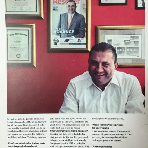 """EMW Founder Mr.Serjios Hage featured in CEO -Middle East"""